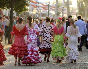 Les rencontres de Flamenca qui devaient se dérouler à la fin du mois d'août à Carcassonne sont annulées. L'événement remplaçait cette année la Feria de Carcassonne. Photo d'illustration : Feria de Séville; avril 2011 - CC BY SH Sevilla Congress & Convention Bureau - wikimedia commons