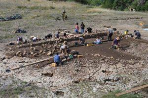 Aveyron fouilles archéologiques