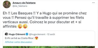 Hugo clément FDSEA