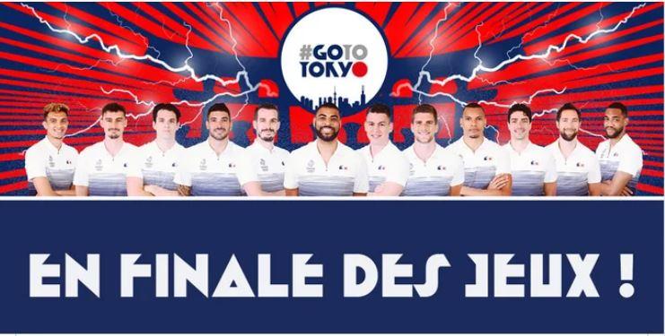 Parmi les joueurs de l'équipe de France de volley qui a battu le Comité olympique russe en finale des JO samedi 7 août, se trouvent quatre anciens Toulousains. © Page Facebook Spacer's de Toulouse.