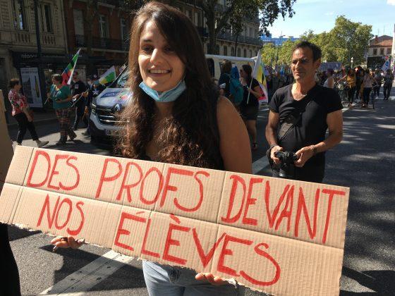 Les images de la manifestation des enseignants à Toulouse le 23 septembre 2021 @Philippe Salvador 4