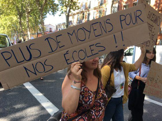 Les images de la manifestation des enseignants à Toulouse le 23 septembre 2021 @Philippe Salvador 8