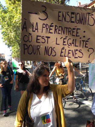 Les images de la manifestation des enseignants à Toulouse le 23 septembre 2021 @Philippe Salvador 7