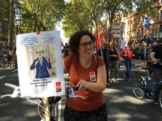 Les images de la manifestation des enseignants à Toulouse le 23 septembre 2021 @Philippe Salvador 13