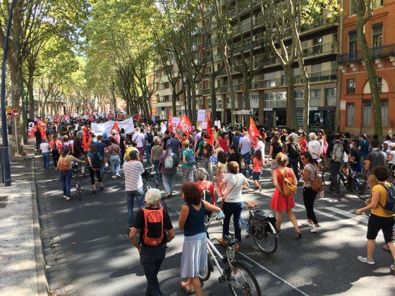 Les images de la manifestation des enseignants à Toulouse le 23 septembre 2021 @Philippe Salvador 10