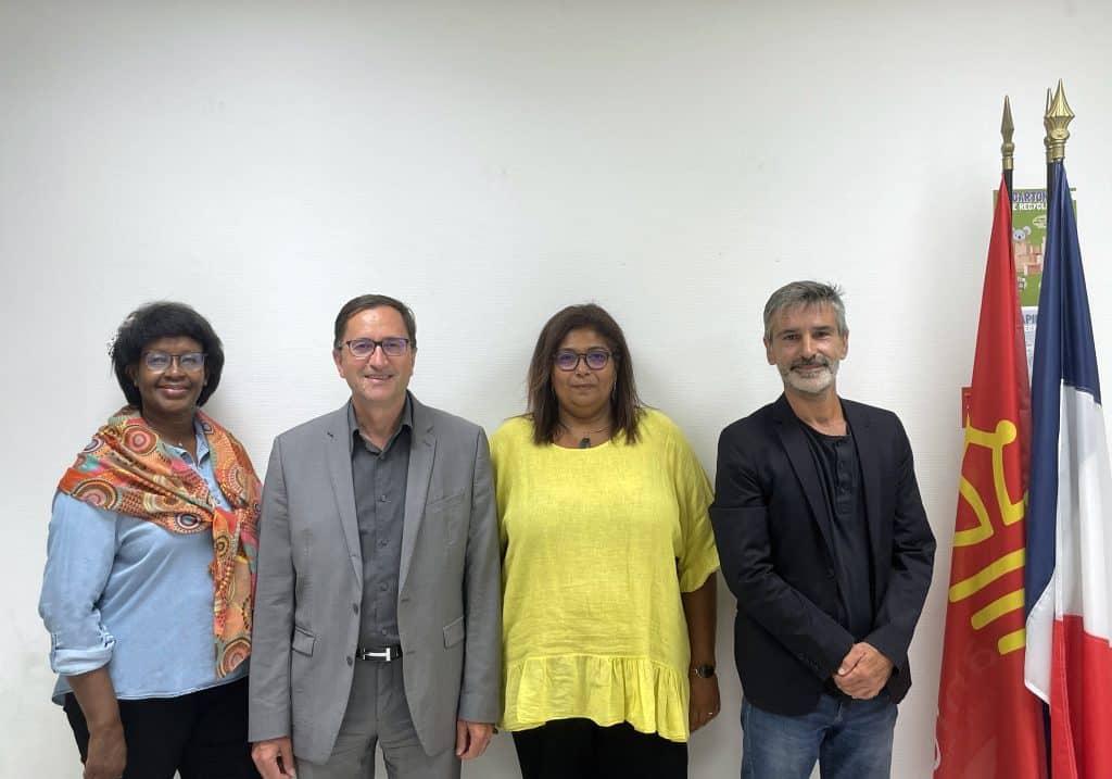 Julienne Mukabucyana, Albert Sanchez, Ana Faure et Patrick Jimena fondent un nouveau groupe politique baptisé Toulouse Métropole en commun