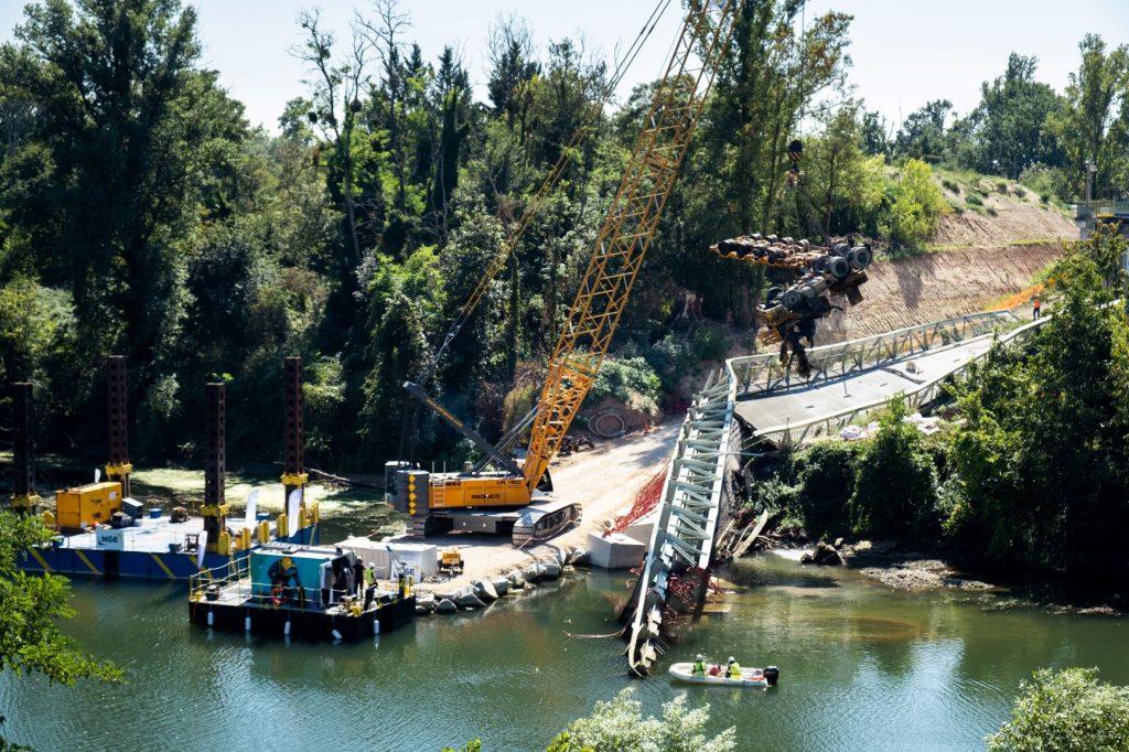 pont Mirepoix camion