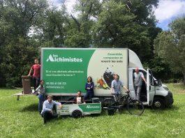 Alchimistes Occitera Toulouse compost déchets organiques