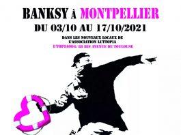 À l'occasion du sommet Afrique-France, une exposition d'œuvres du street artist Bansky est organisée à Montpellier, du 3 au 17 octobre prochain, au profit de l'association SOS Méditerrannée