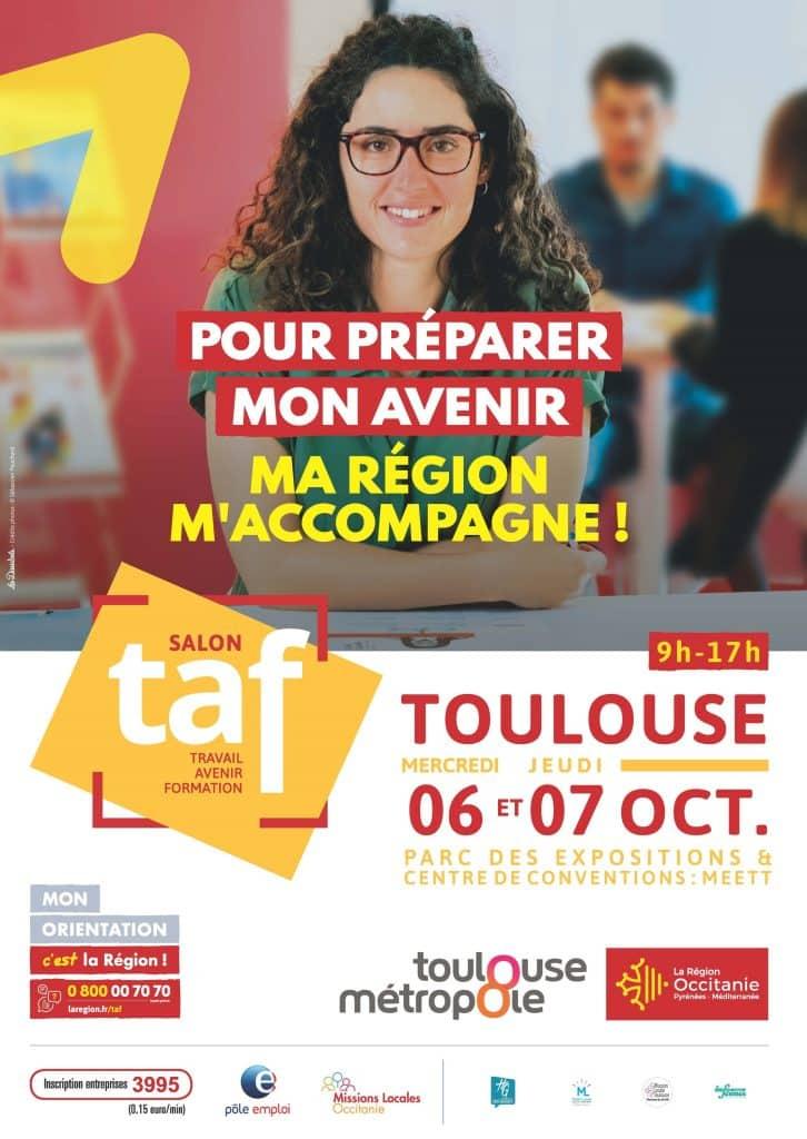 Dédié à la recherche d'emploi ou de formation, le salon TAF de Toulouse ouvrira ses portes ce mercredi 6 octobre, avec 650 offres à pourvoir