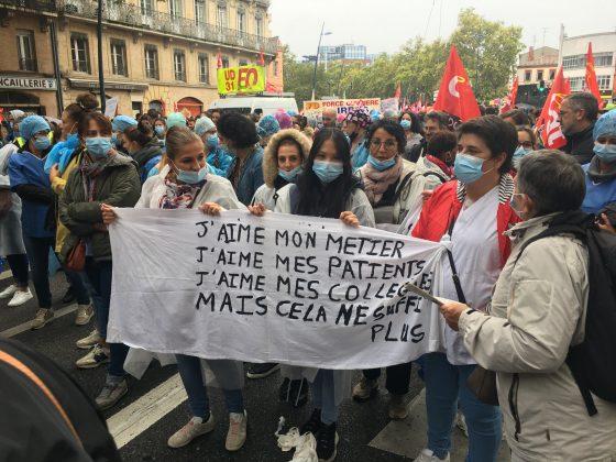 Manifestation interprofessionnelle du 5 octobre 2021