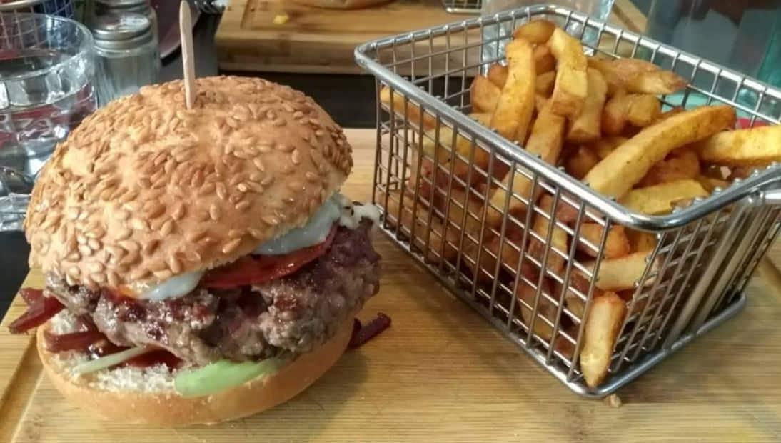 burger sans gluten Yard Burger Factory
