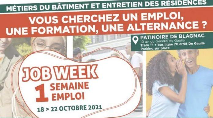 jobweek blaganc toulouse