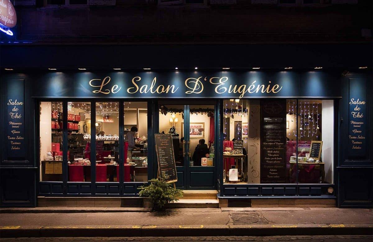 Le salon d'Eugénie à Toulouse